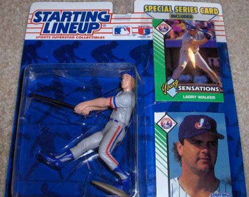1993 Larry Walker MLB Starting Lineup