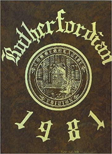 Rutherford High School Yearbook 1981 The Rutherfordian Yearbook