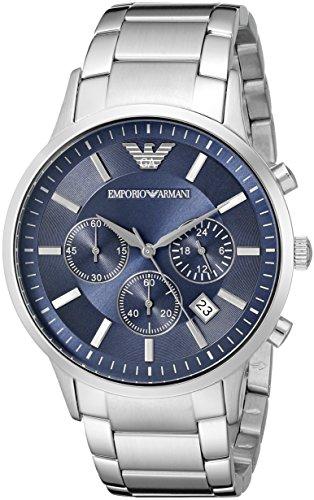 Emporio Armani Men's AR2448 Dress Silver Watch by Emporio Armani (Image #1)