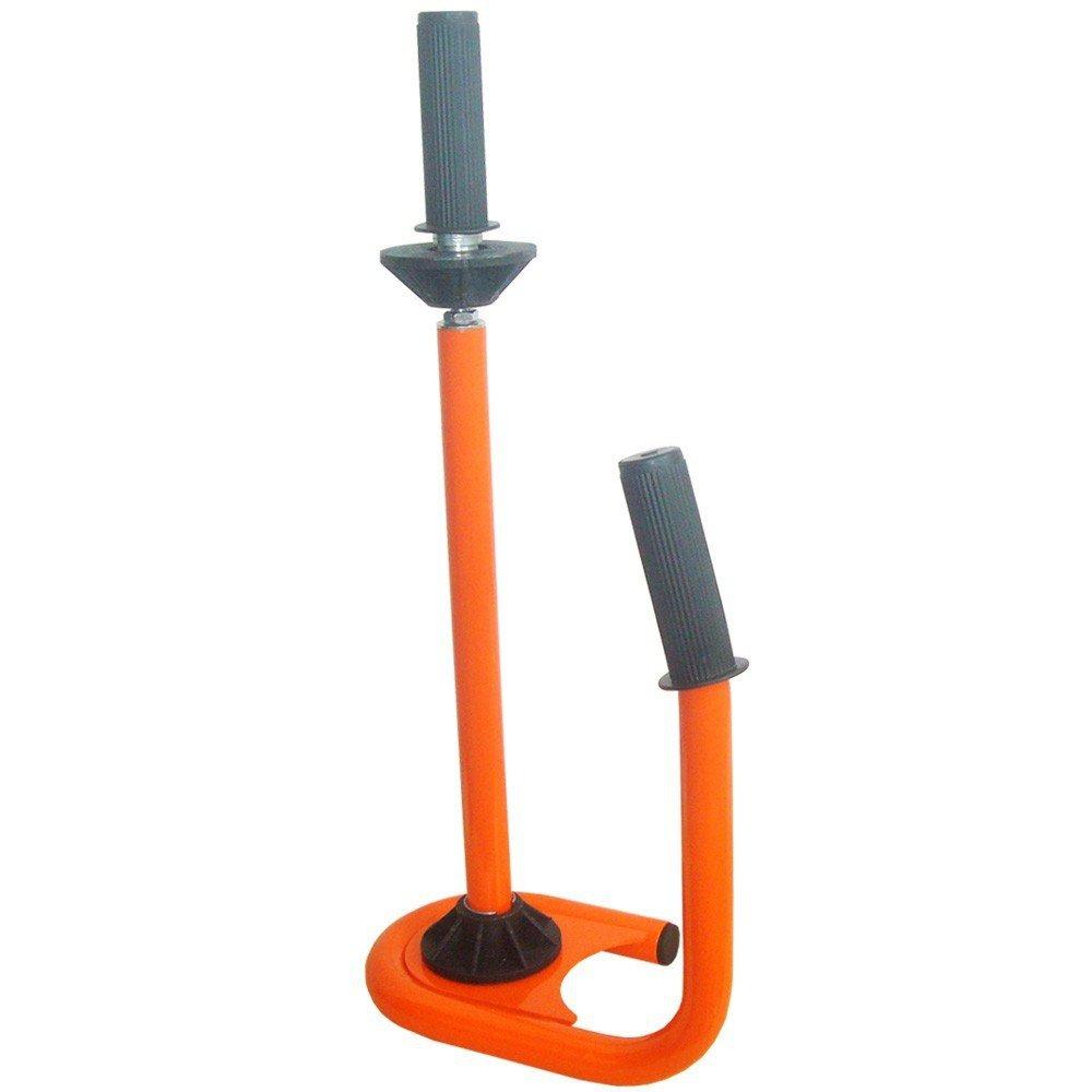 1 Professional Stretch foil dispenser Wrapping foil Hand dispenser orange VERPAX®