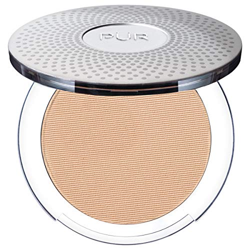 PÃœR 4-in-1 Pressed Mineral Makeup with Skincare Ingredients in Linen/MN3, 0.28 Ounce