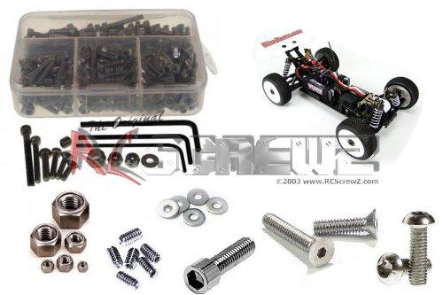 RC Screwz Stainless Steel Screw Kit for OFNA Nexx8 1/8 Electric Buggy #ofn062