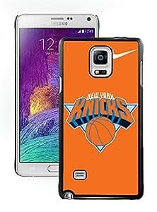 New Custom Design Cover Case For Samsung Galaxy Note 4 N910A N910T N910P N910V N910R4 New York Knicks 4 Black Phone Case