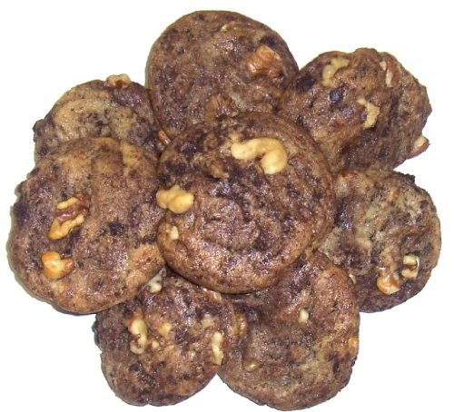 Scott's Cakes Brownie Chunk Cookies with Walnuts in a 1 Pound Plastic Deli (Scotts Cakes Walnut)