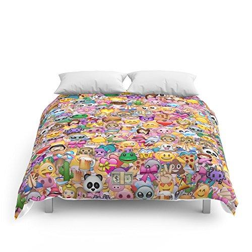 Cute Emoji Kids Comforters