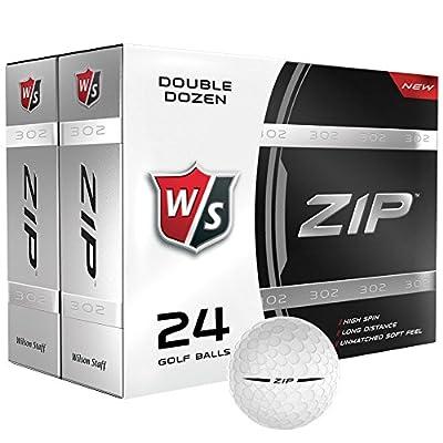 Wilson Zip Golf Ball 24-Ball Pack
