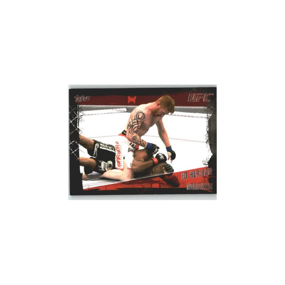 2010 Topps UFC Trading Card # 124 Ed Herman (Ultimate