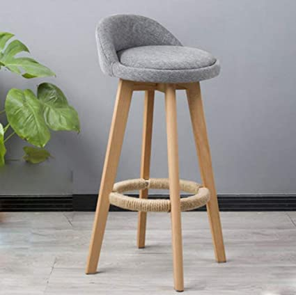 Cool Amazon Com Useful Home Furniture Solid Wood Bar Chair Spin Machost Co Dining Chair Design Ideas Machostcouk