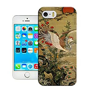 LarryToliver Coolest iphone 5/5s Customizable Peacock and Phoenix Cases Cover Standard Size