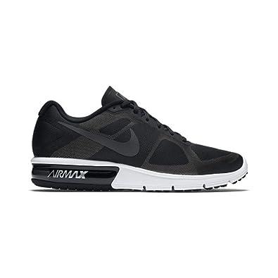 purchase cheap 68ce2 2d7d1 Nike Men s Air Max Sequent Running Shoe Black Wolf Grey White Metallic  Hematite