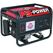 P3 Power GS2000W 6.5 HP OHC Gas Powered Portable Generator, 2000-Watt