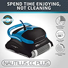 Packed with even more features and exceptional cleaning power, the Nautilus Plus with CleverClean is a must have for any pool up to 50 feet in length. This upgraded cleaner features CleverClean Technology, a software that systematically scans...