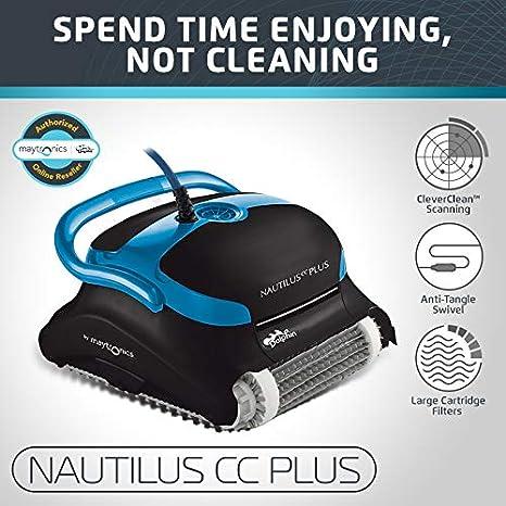 Amazon.com: Dolphin Nautilus CC Plus - Limpiador de piscinas ...