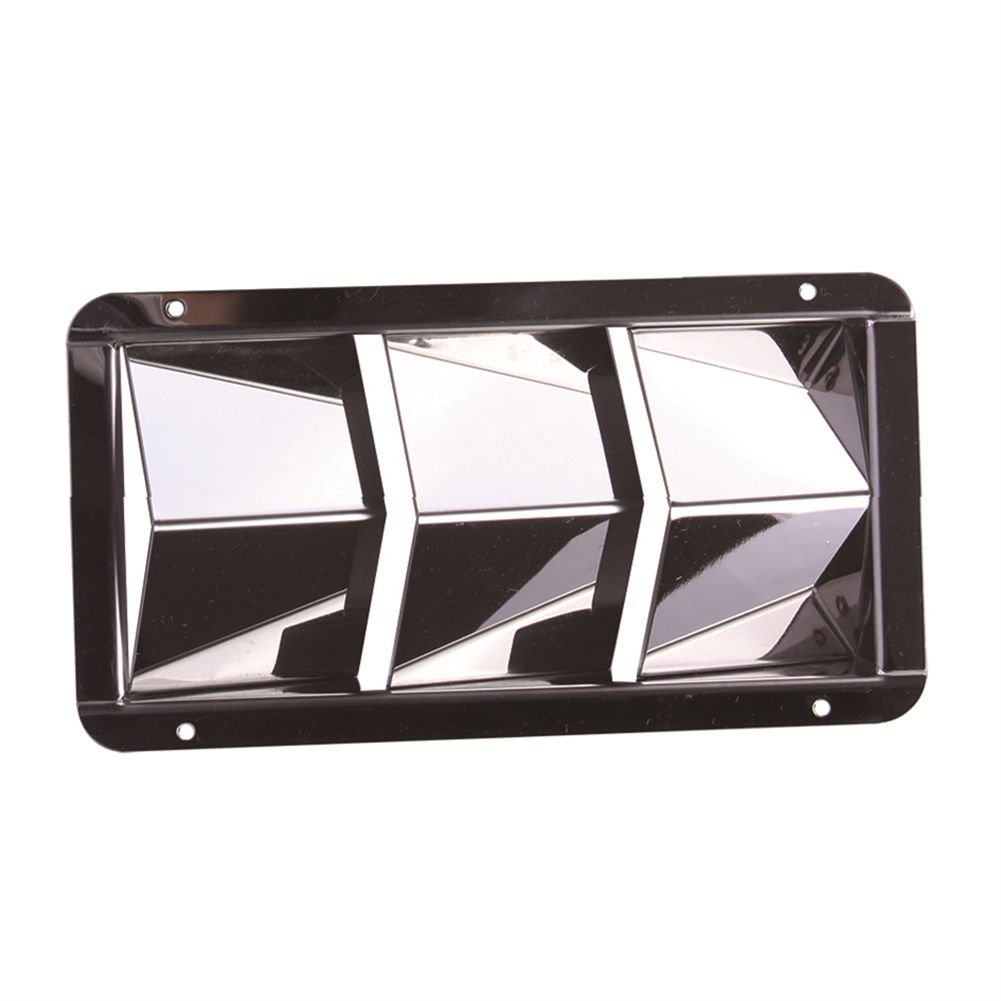 Boat Louver Vent 4-1/2'' 8'' Stainless Steel Boat Marine 3 Slots Vent