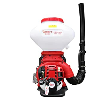 IDABAY Pulverizador de Mochila Profesional para fumigación con Motor Gasolina 4 Tiempos y 2 pistones Sulfatador