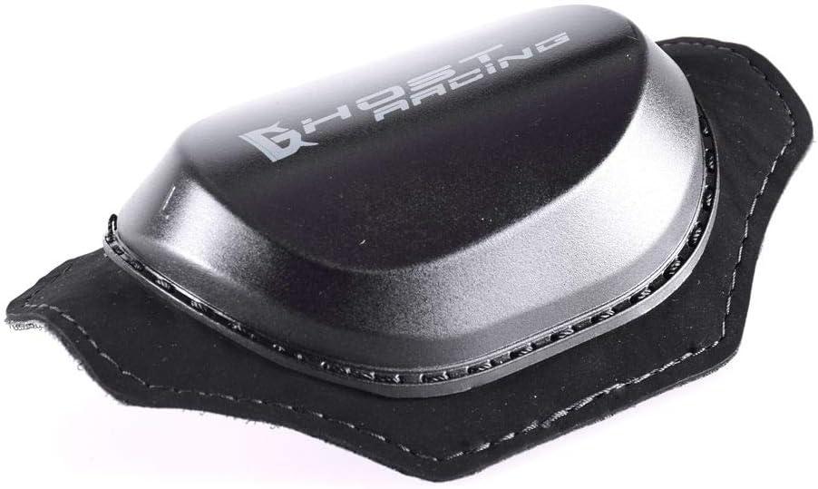 Moto Motard Courses Genou Protecteur Patins Coulissants Noir /Équipement de Protection
