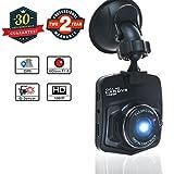 "Dash Cam for Cars, ABLEGRID 2.0"" HD Wide Angle Mini Hidden Car Driving Recorder Camera DVR with Loop Recording Night Vision G-sensor - SL200"