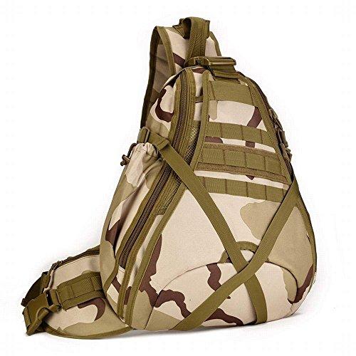Hung cross de de aire multifunción de camuflaje viaja colores cross bolsa que diagonal 5 militar agua mochila de prueba opcional capacidad hombro gran Función bolsa de de Kai libre Digital Sansha a al HqrEB8wH