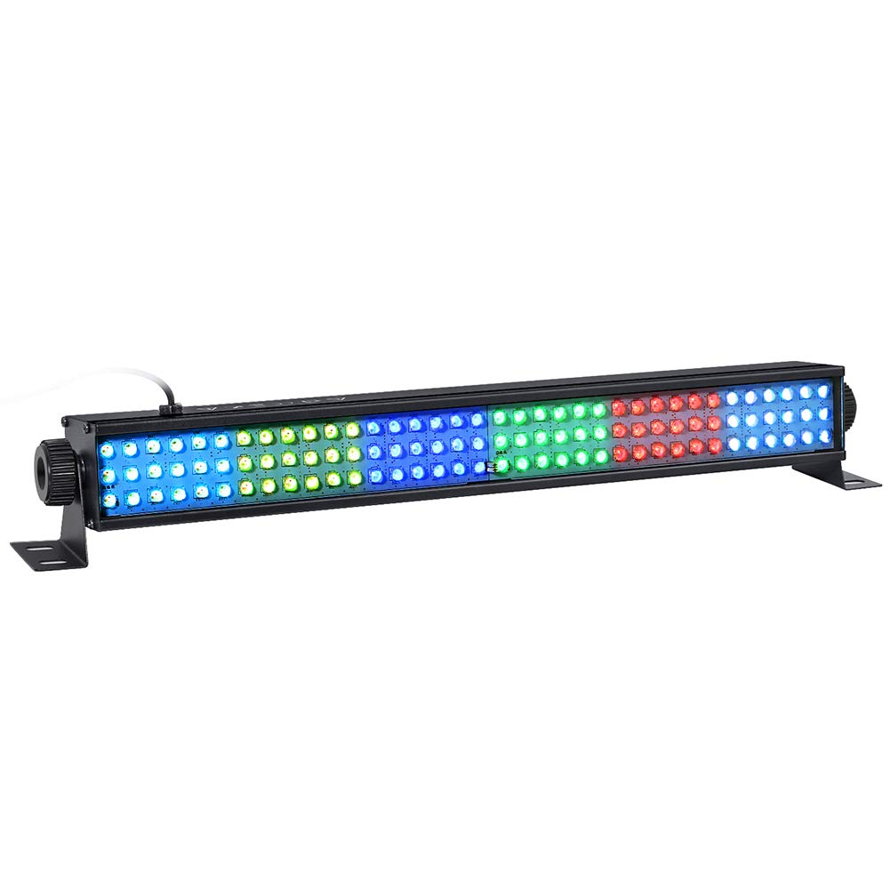 LED Wash Lights, LaluceNatz 20 In 25W 108LEDs RGB Wash Light Bar DMX Control Auto Play Strobe Effect Uplighting for Wedding Church DJ Party Stage Lighting by LaluceNatz