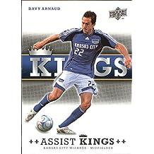 2008 Upper Deck MLS Assist Kings #AK10 Davy Arnaud - NM-MT