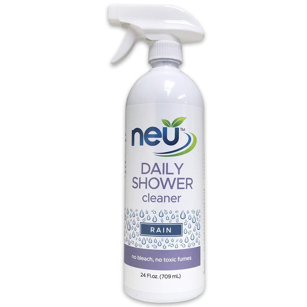 neu Daily Shower Cleaner - pH Neutral Bathroom Shower Spray - Rain - 24 Ounce (004022) by neu-homecare