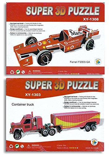 3d puzzle ferrari