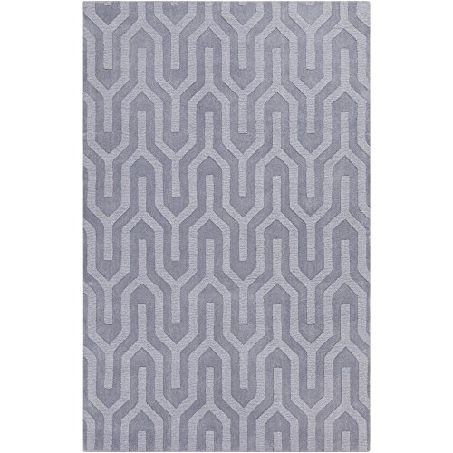 Surya Mystique M-5269 Transitional Hand Loomed 100% Wool Lavender Gray 2' x 3' Accent Rug