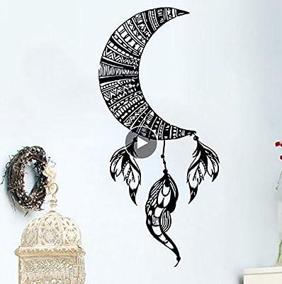 Lkfqjd Luna Tatuajes De Pared Decoración Extraíble Atrapasueños ...