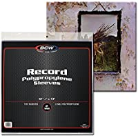 33 RPM Record Sleeves (100 Count)