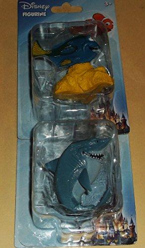 Disney-Pixar-Finding-Nemo-Movie-Character-2-Figurines-Dory-Bruce-shark