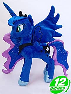 My Little Pony Princess Luna 12 Inch Toddler Stuffed Plush Kids Toys
