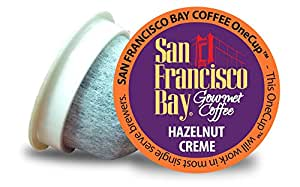 San Francisco Bay OneCup, Hazelnut Crème, 36 Count- Single Serve Coffee, Compatible with Keurig K-cup Brewers, Flavored, 13.97 oz