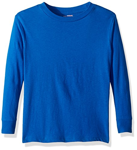 Royal Blue Football T-shirt - Puma Men's City Long Sleeve Blank Tee, X-Large, Royal Blue