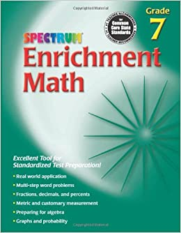 Enrichment Math, Grade 7 (Spectrum)