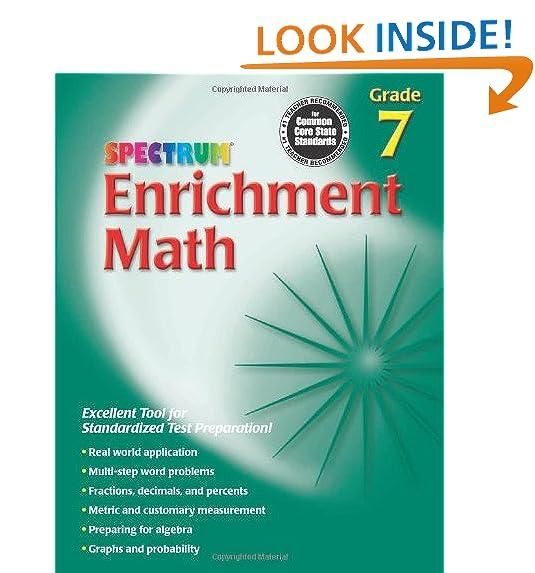 Math Grade 7: Amazon.com