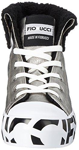 Baskets Hautes Feim043 Fiorucci Piombo Femme Piombo Gris 675Eqxw8