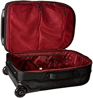 8d6b4ed060dc Under Armour Carry-On Rolling Travel Bag, Black (001)/Black, One ...