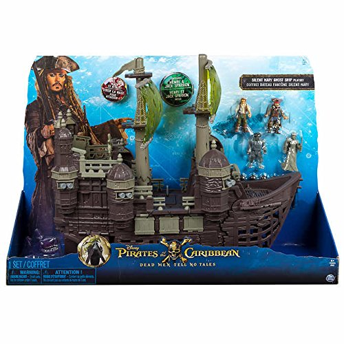 Disney Pirates of the Caribbean Silent Mary Ghost Ship Play Set