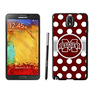 Hot Sale Samsung Galaxy Note 3 Case ,Southeastern Conference Sec Football Mississippi State Bulldogs 01 Black Samsung Galaxy Note 3 Cover Unique And Popular Designed Phone Case