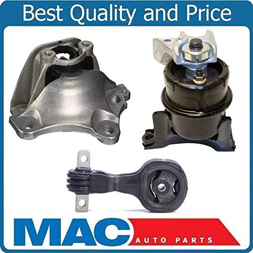 Mac Auto Parts 159033 New 3 Pcs Engine Mount Kit Fits For Honda Civic Hybrid 1.3L 06-11 Automatic Transmission