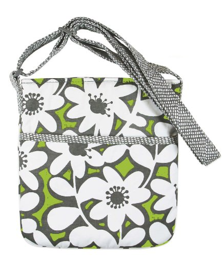 [C.R. Gibson Hipster Sling Pouch, By Iota Chic, Cross Body Style Bag with Adjustable Straps, Measures 8.5