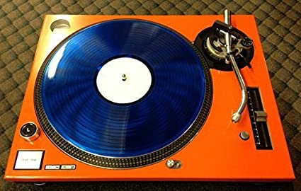Amazon.com: Technics Face Plate sl-1200/1210 MK5 m3d Naranja ...