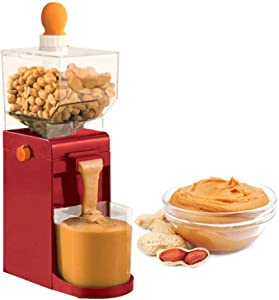 ZHWDD Home 220V Electric Peanut Butter Maker, 500Ml Portable Nut Butter Manufacturing Small Cooking Grinder for Coffee Corn Peanut Cashew Hazelnut Grain Mill