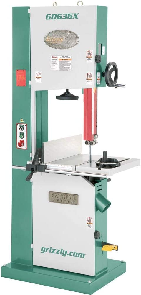 """Grizzly Industrial G0636X - 17"""" 5 HP Ultimate Bandsaw"""