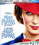 Mary Poppins Returns  [Blu-ray + DVD + Digital] (Bilingual)