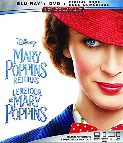 Mary Poppins Returns  [Blu-ray + DVD + Digital]