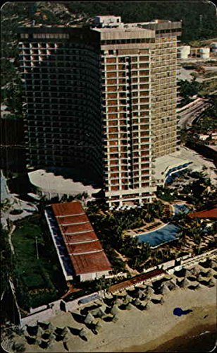 Hotel Plaza International Acapulco, Mexico Original Vintage - Plaza International