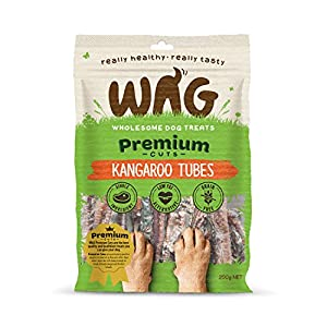 Kangaroo Tubes 750g, Grain Free Hypoallergenic Natural Australian Made Dog Treat Chew, Perfect for Training Click on image for further info.
