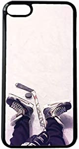 with Hockey 1 Beautiful Case Hard Plastics for Guy On iPhone 6 Plus 5.5 Apple Choose Design 128-5