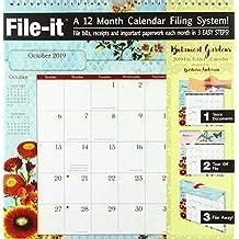 Botanical Gardens 2019 File-it Planner